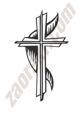 Zaorski - zdobienie krzyżem wariant 5