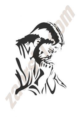 Zaorski - zdobienie krzyżem wariant 16