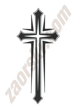 Zaorski - zdobienie krzyżem wariant 27