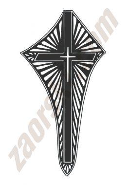 Zaorski - zdobienie krzyżem wariant 29