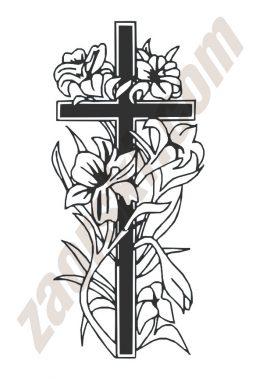 Zaorski - zdobienie krzyżem wariant 34