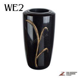Cmentarzowy wazon zdobiony 2