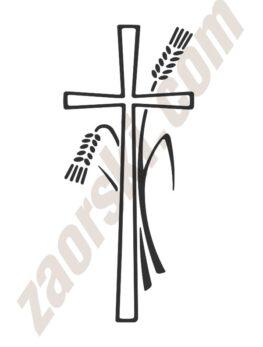 Zaorski - zdobienie krzyżem wariant 4