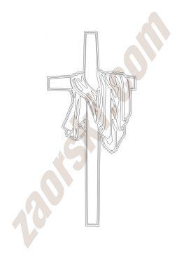 Zaorski - zdobienie krzyżem wariant 10