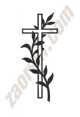 Zaorski - zdobienie krzyżem wariant 23