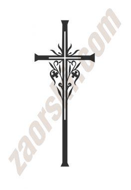 Zaorski - zdobienie krzyżem wariant 24