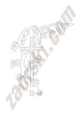 Zaorski - zdobienie krzyżem wariant 31