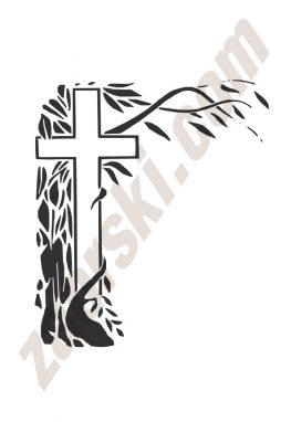 Zaorski - zdobienie krzyżem wariant 33