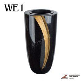 Cmentarzowy wazon zdobiony 1
