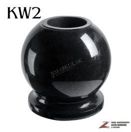 Cmentarzowy wazon kula 2
